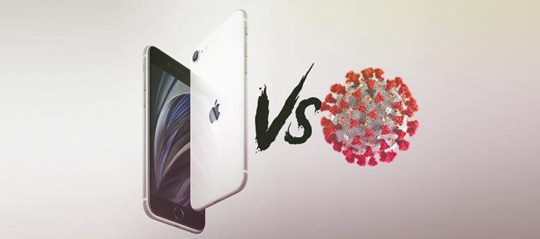 ابل تتحدى فيروس كورونا وتستعد لإطلاق iPhone se2