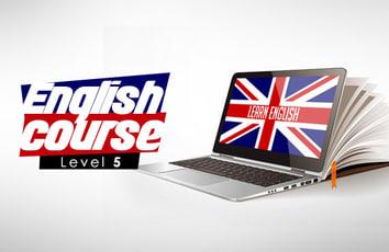 كورس اللغة الإنجليزية - المستوى الخامس