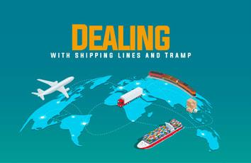 الخطوط الملاحية وشركات إيجار السفن