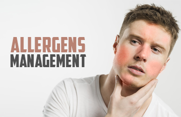 Allergens management
