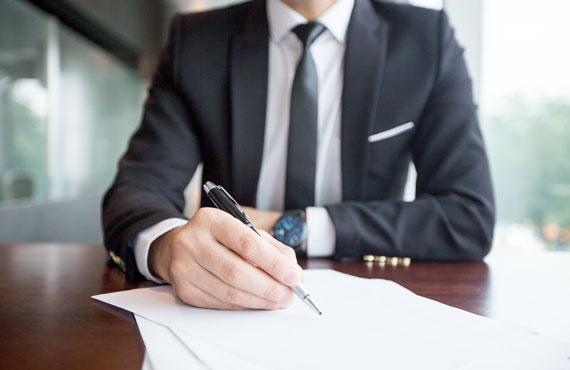 كتابة الأعمال