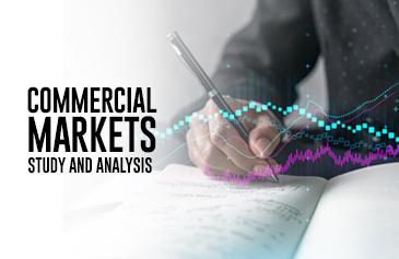 دراسة وتحليل الأسواق التجارية