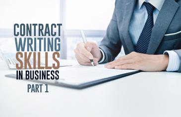 كورس مهارات كتابة العقود في الأعمال - الجزء الأول
