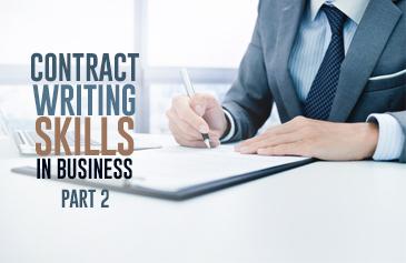 كورس مهارات كتابة العقود في الأعمال - الجزء الثاني