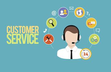 خدمة العملاء