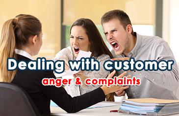 كورس إدارة غضب وشكاوى العملاء
