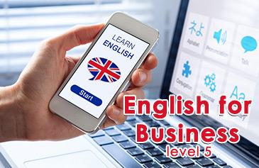 كورس اللغة الإنجليزية للأعمال - المستوى الخامس