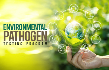 Environmental pathogen testing program