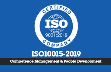 كورس إدارة الجدارات والتنمية البشرية أيزو 10015
