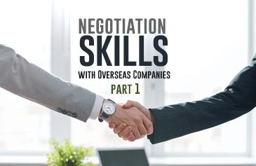 كورس مهارات التفاوض مع الشركات الدولية - الجزء الأول