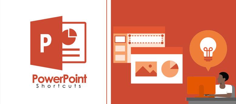 أهم إختصارات برنامج الـ Power Point.