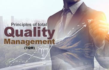 مبادئ إدارة الجودة الشاملة