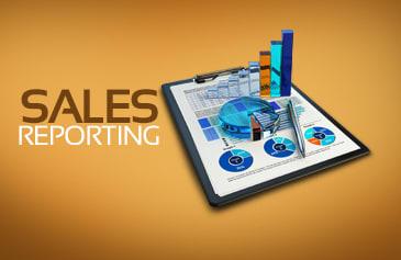 كتابة تقارير المبيعات