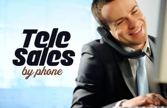 البيع عبر الهاتف