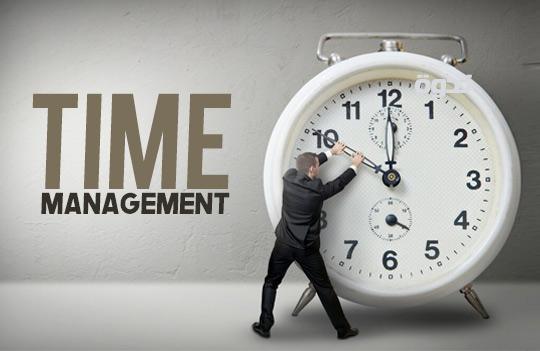 إدارة الوقت - الجزء الأول