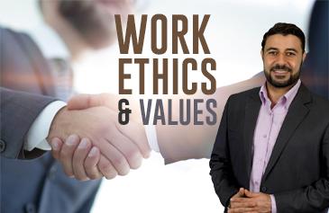كورس أخلاقيات وقيم العمل