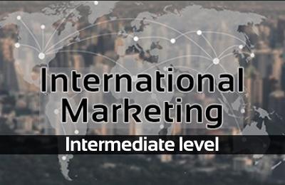 كورس التسويق الدولي (المستوى المتوسط)